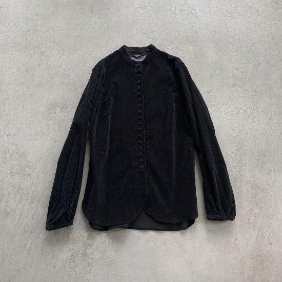 HALLELUJAH  ヴィクトリアシャツ Black (2021AW)