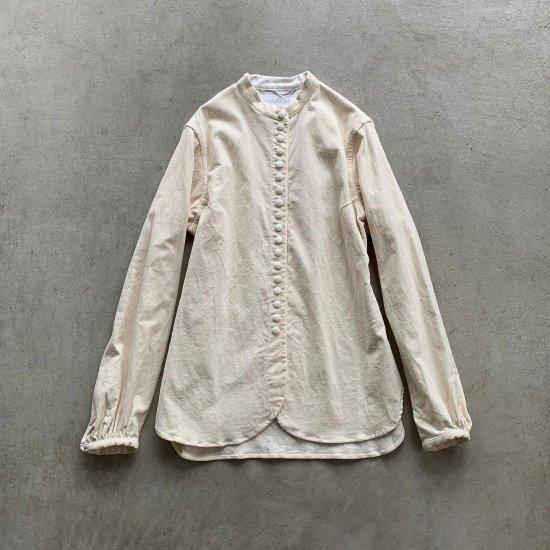 【ご予約商品:10月上旬発送予定】HALLELUJAH  ヴィクトリアシャツ White (2021AW)