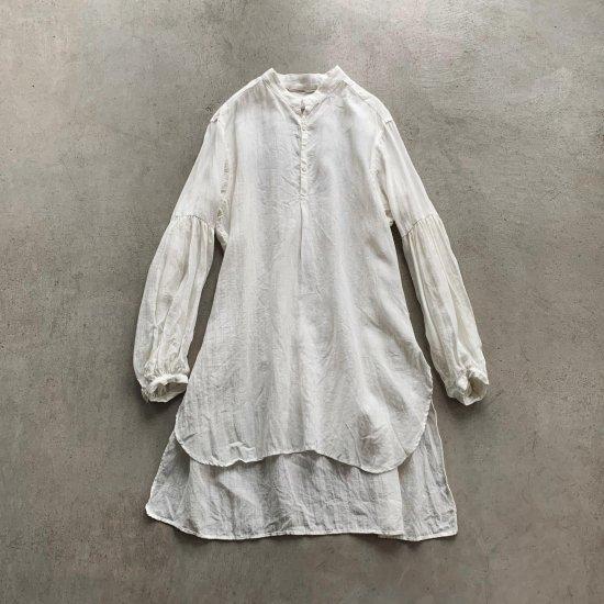 HALLELUJAH  修道女シャツ Off White (2021AW)