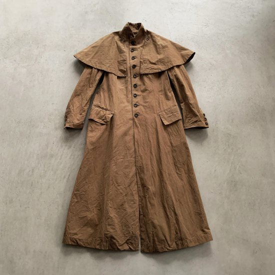 HALLELUJAH  ハンティングコート Brown (2021AW)