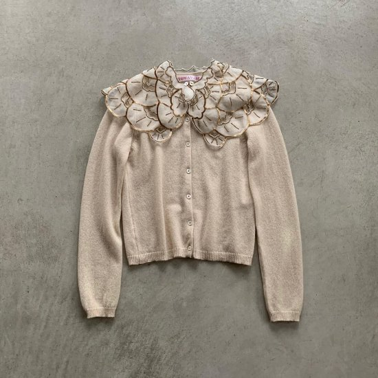 TOWAVASE  Cafe Nouvelle Athenes cardigan ivory(2021AW)