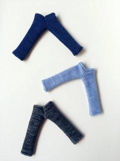 オビツ11サイズ デニムレギンス(紺)navy blue