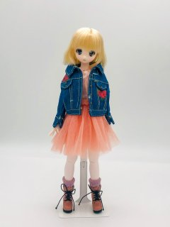 dolly para 薔薇のGジャン&ワンピースセット