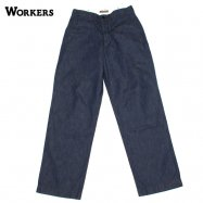 <img class='new_mark_img1' src='https://img.shop-pro.jp/img/new/icons50.gif' style='border:none;display:inline;margin:0px;padding:0px;width:auto;' />WORKERS/ワーカーズ Officer Trousers Vintage Type2 10oz Denim