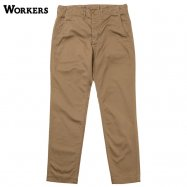 <img class='new_mark_img1' src='https://img.shop-pro.jp/img/new/icons59.gif' style='border:none;display:inline;margin:0px;padding:0px;width:auto;' />WORKERS/ワーカーズ Officer Trousers Slim Type2 USMC Khaki Chino