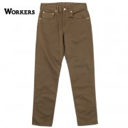WORKERS/ワーカーズ Lot 819 ,Pique Pants ピケパン ブラウン