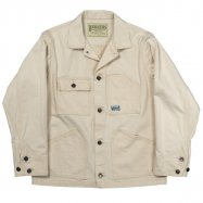 WORKERS/ワーカーズ Engineer Jacket White Denim Sanforized