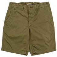 WORKERS/ワーカーズ  Officer Shorts Olive Chino