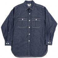 WORKERS/ワーカーズ Work Shirt Vintage Fit Denim
