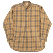 <img class='new_mark_img1' src='https://img.shop-pro.jp/img/new/icons13.gif' style='border:none;display:inline;margin:0px;padding:0px;width:auto;' />WORKERS/ワーカーズ Grandpa Shirt,Beige Check