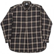 <img class='new_mark_img1' src='https://img.shop-pro.jp/img/new/icons13.gif' style='border:none;display:inline;margin:0px;padding:0px;width:auto;' />WORKERS/ワーカーズ Grandpa Shirt Black Check