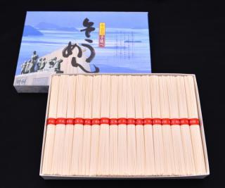 小豆島手延べ素麺1.7キロ 34束入 (赤帯)