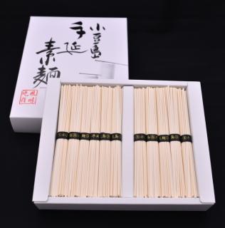 細うどん(太口そうめん)1.1キロ 22束入 (黒帯)