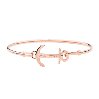 Bracelet Anchor Cuff ローズゴールド