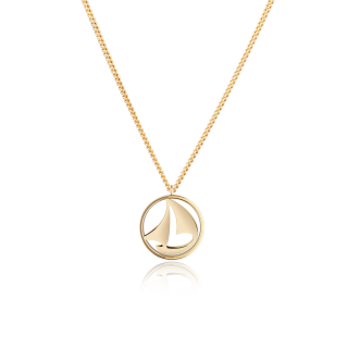 Necklace Sail Away ゴールド