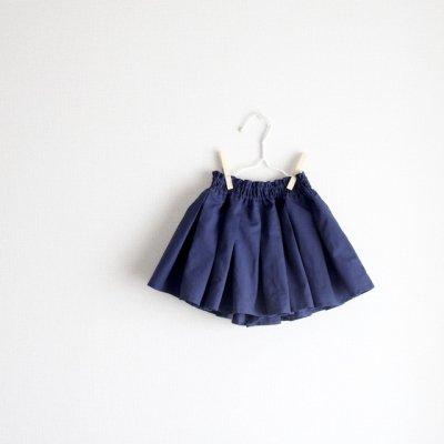 Cotton linen tack culottes