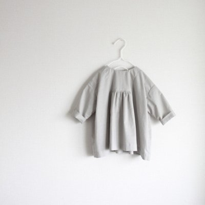 Cotton linen york gather dress