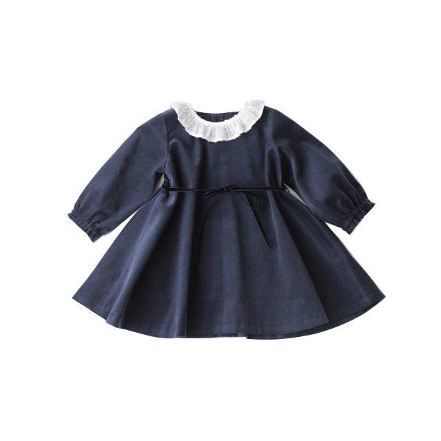 Corduroy flared dress