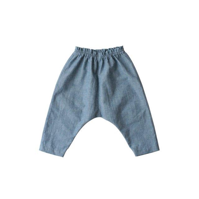 Cotton linen easy pants