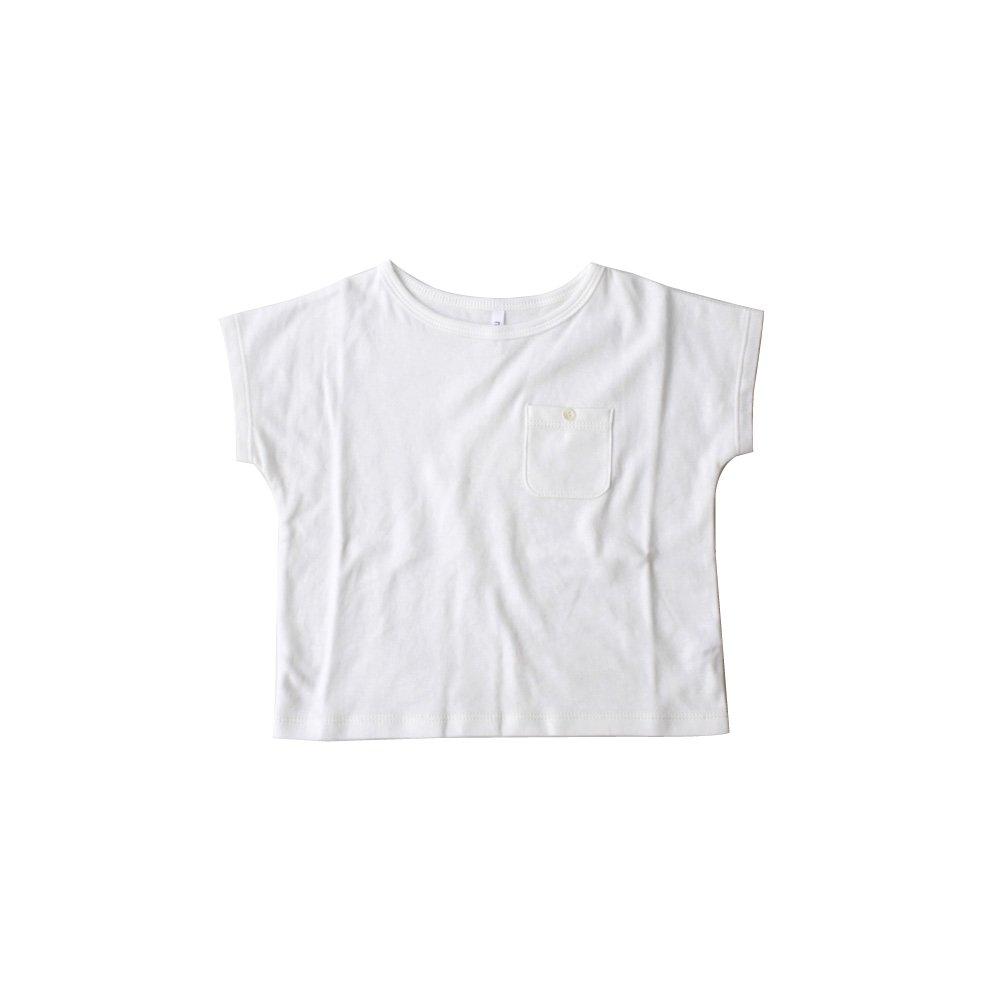 Pocket T-shirt(white)