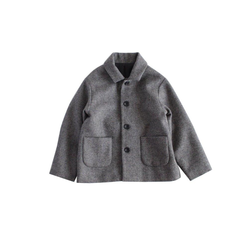 Stain collar jacket