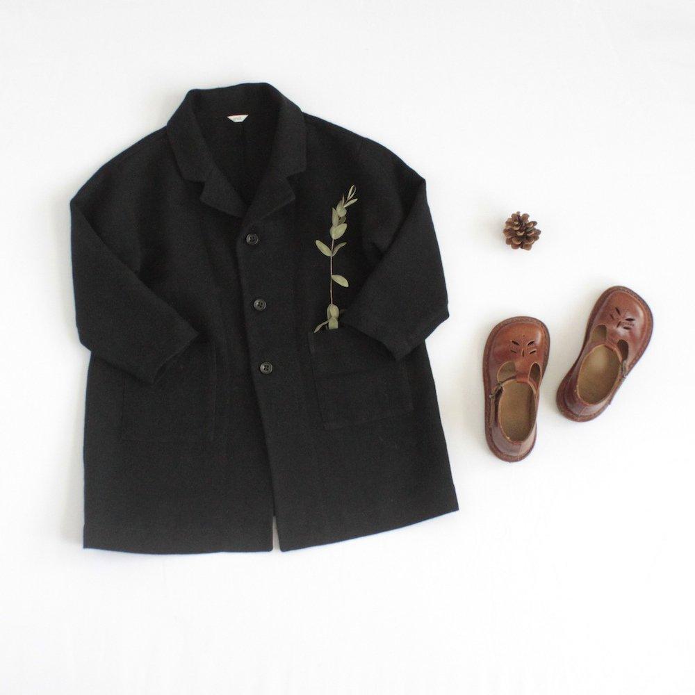 Chester coat - black