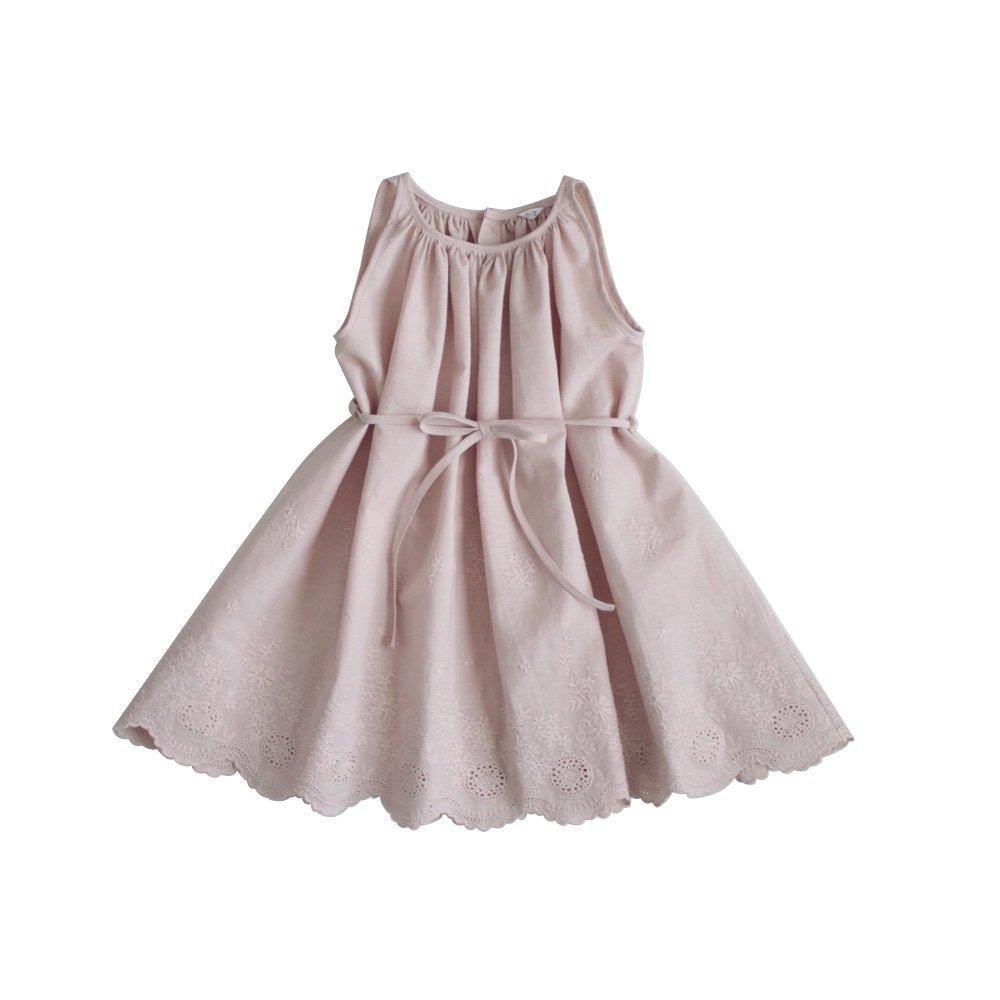 Scallop hem dress & Bloomer