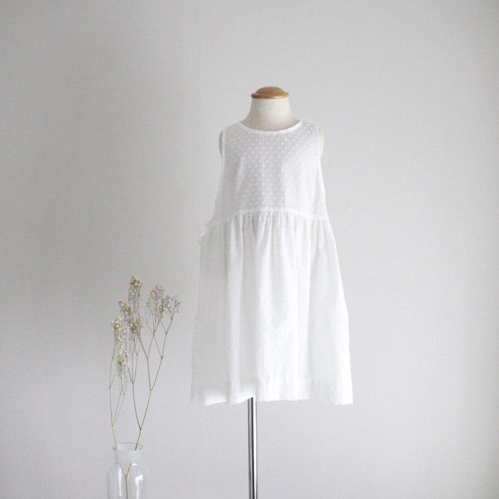 Side ribbon dress (Dot)