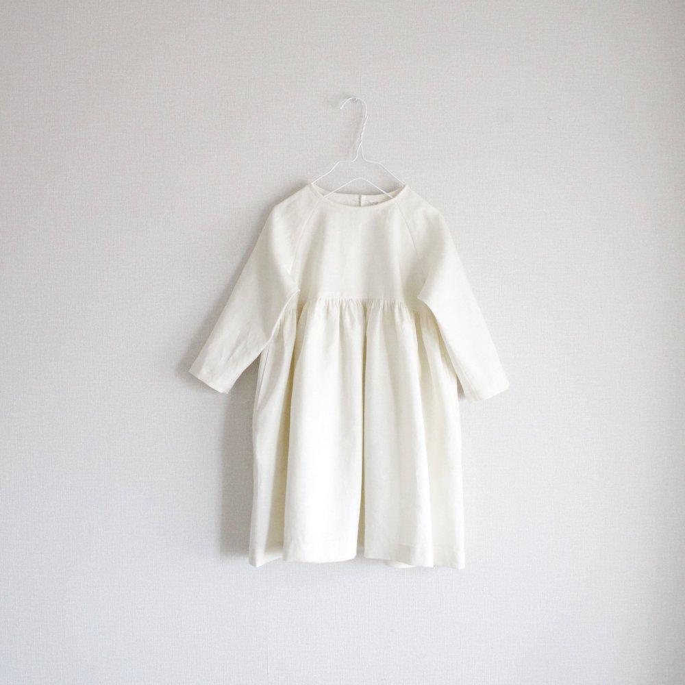 【T様オーダー】Linen raglan sleeve dress