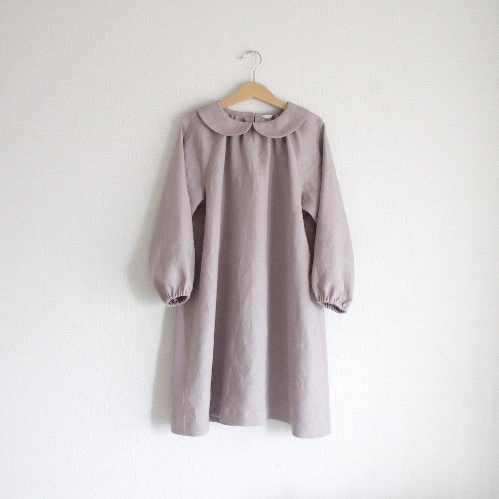 【M様オーダー】Round collar dress