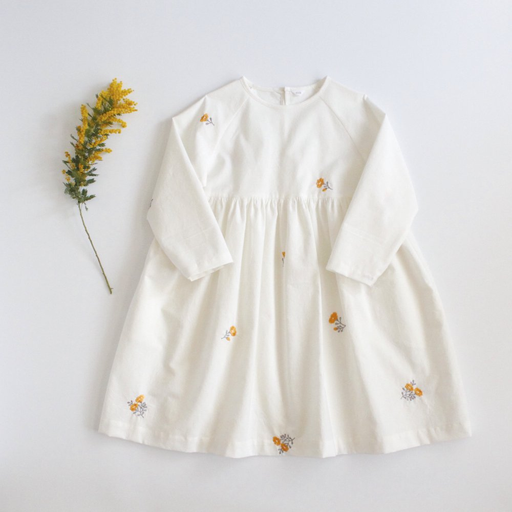 Raglan sleeve dress(120size)