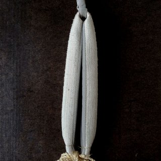 H.P.E.谷由起子 ラオスのシルク 花緒3 アイボリー