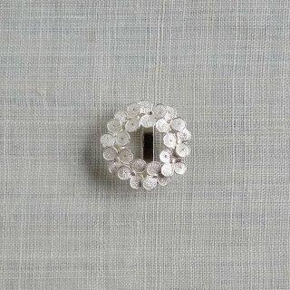 松原智仁 帯留 clover wreath