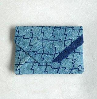 正藍型染 田中昭夫 数寄屋袋