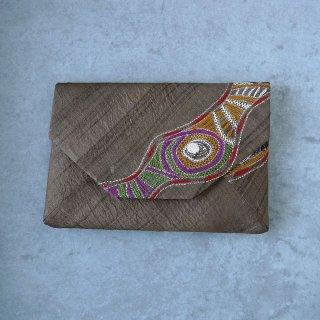 インド刺繍 数寄屋袋