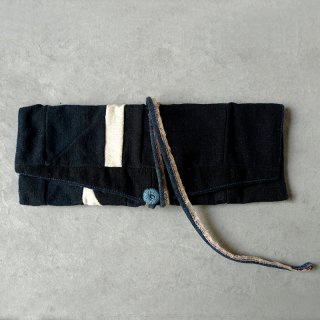 ラオス レンテン族の布 小物入れ