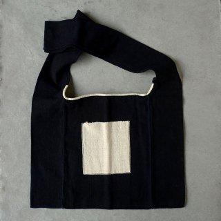 ラオス レンテン族の布 肩掛けバッグ