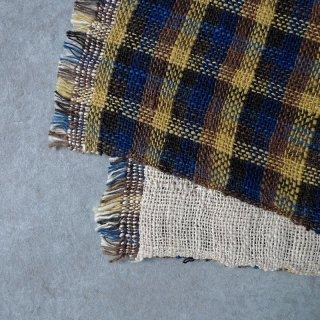 H.P.E.谷由起子 ラオスの布 黒タイ族 二重織布巾 1