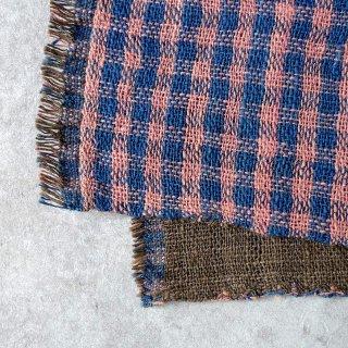 H.P.E.谷由起子 ラオスの布 黒タイ族 二重織布巾 4