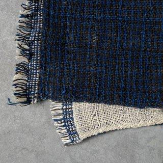 H.P.E.谷由起子 ラオスの布 黒タイ族 二重織布巾 5