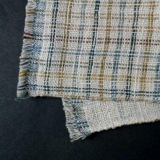 H.P.E.谷由起子 ラオスの布 黒タイ族 二重織布巾 6