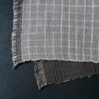 H.P.E.谷由起子 ラオスの布 黒タイ族 二重織布巾 7