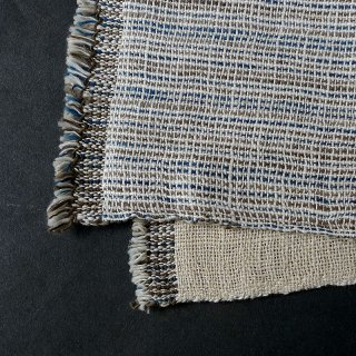 H.P.E.谷由起子 ラオスの布 黒タイ族 二重織布巾 8