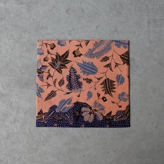 古袱紗 ジャワ更紗 [チレボン] ピンク