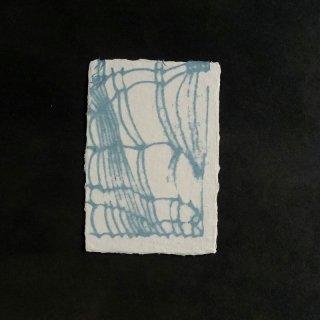 森田千晶 ポストカード 糸