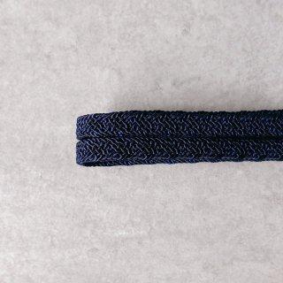 帯締 平唐組レース 紺色