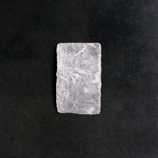 森田千晶 箔 名刺サイズ シルバー
