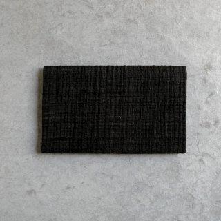 H.P.E.谷由起子 ラオスの布 懐紙入 [黒]