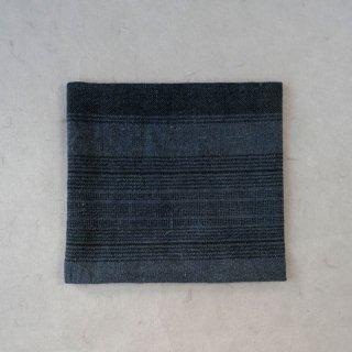 古袱紗 タイ 山岳民族 藍染 織り