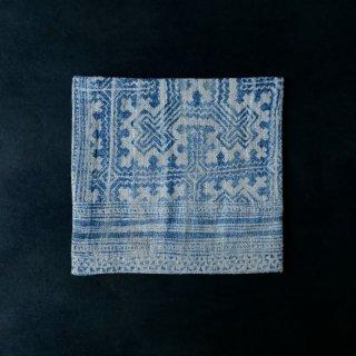 古袱紗 ミャオ族 藍染 絞り